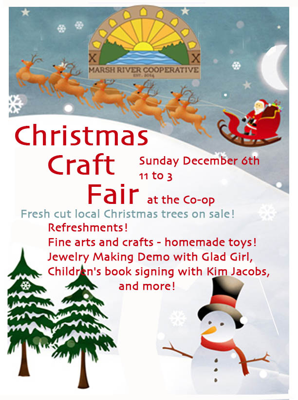 ChristmasCraftFairPoster