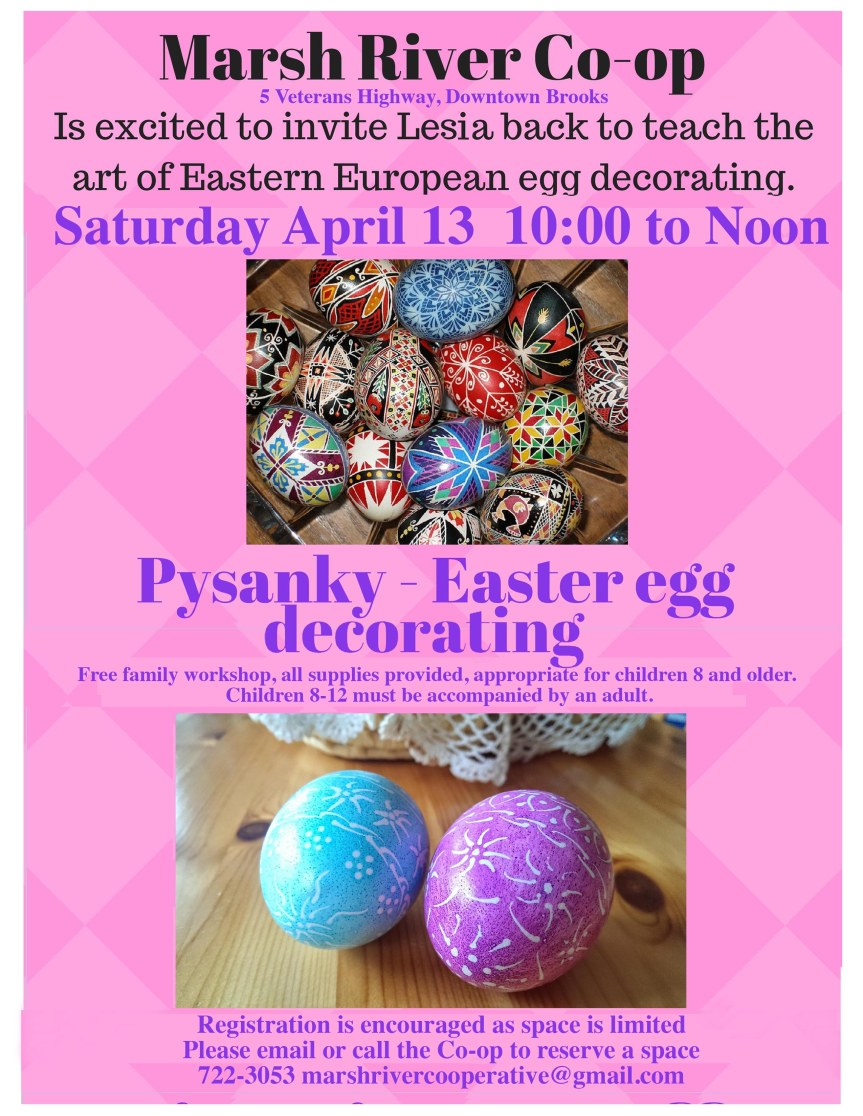 Pysanky - Eastern European Easter egg decorating2019
