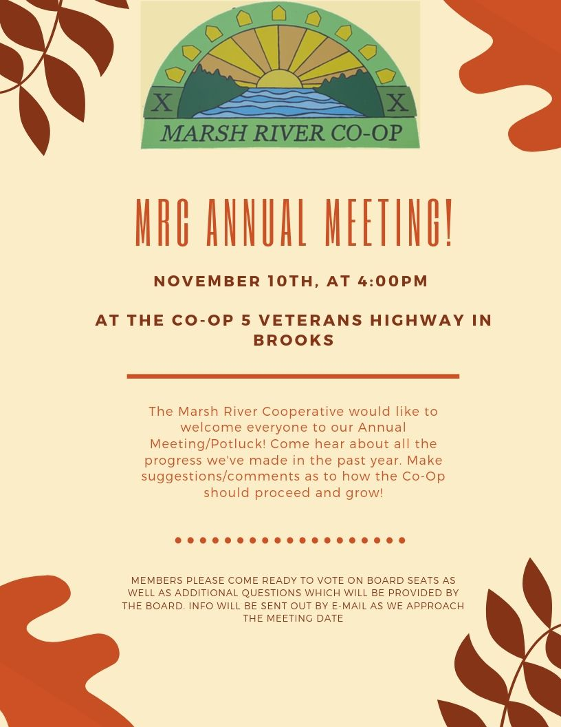 MRC Annual Meeting Flyer 2019